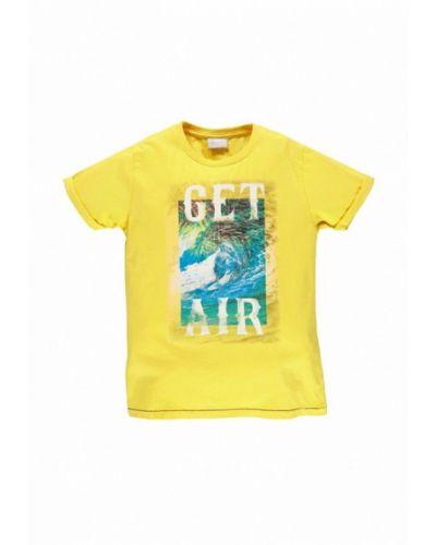 Желтая футболка Mek