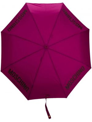 Фиолетовый зонт Moschino