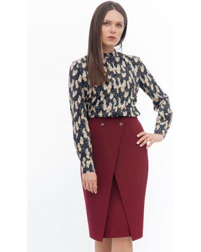 Блузка с вырезом на пуговицах Modellos