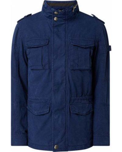 Niebieska kurtka bawełniana Wellensteyn