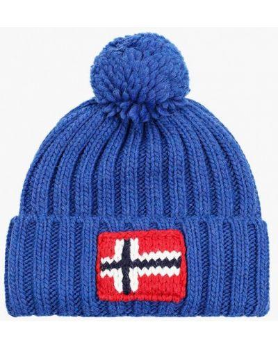 Синяя шапка осенняя Napapijri