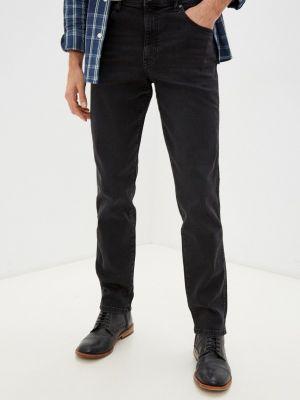 Серые зимние джинсы Wrangler