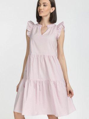 Платье - розовое Gloss
