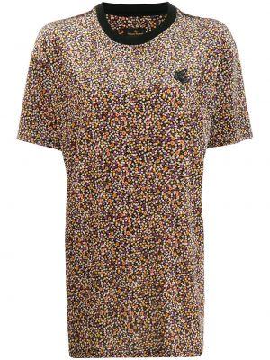 Топ с леопардовым принтом с вышивкой Vivienne Westwood Anglomania