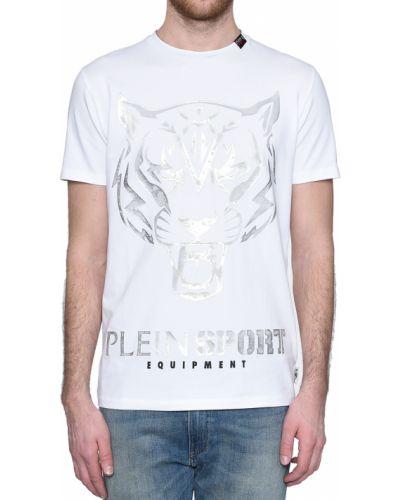 Белая футболка Plein Sport
