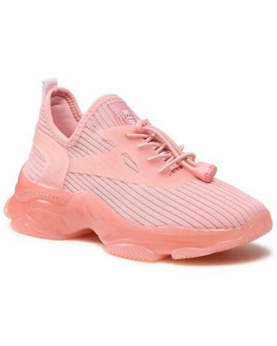 Różowe sneakersy Steve Madden