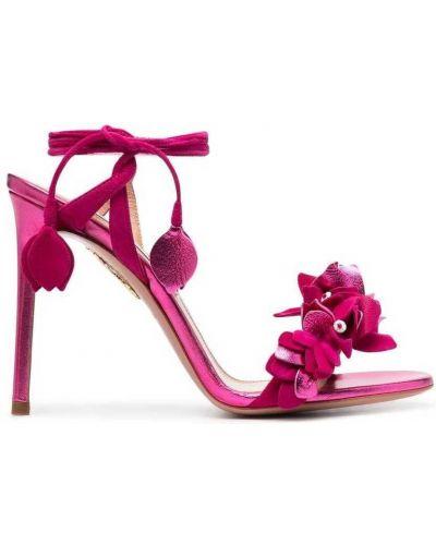 Różowe sandały Aquazzura