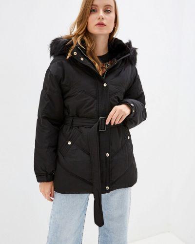Утепленная куртка демисезонная черная River Island
