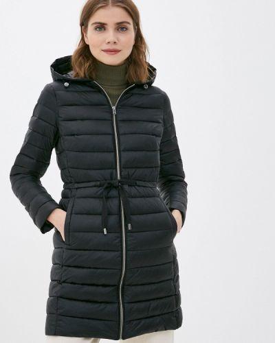 Черная утепленная куртка Ostin