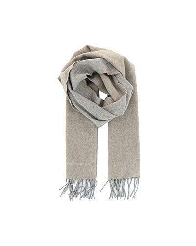 Коричневый шарф кашемировый Emporio Armani