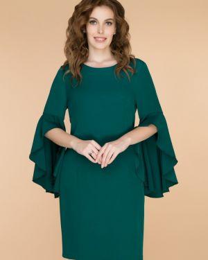 Вечернее платье каскадное на молнии Belluche