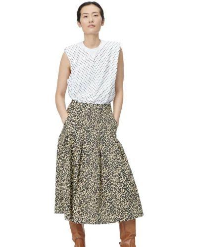 Beżowa spódnica Munthe
