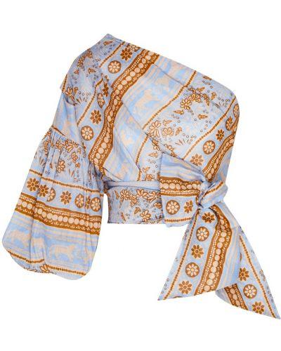 Блузка с завязками асимметричная Johanna Ortiz