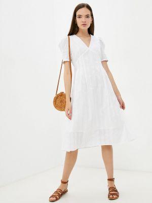Белое весеннее платье Doroteya