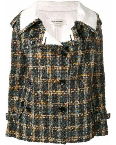 Черный удлиненный пиджак винтажный Junya Watanabe Comme Des Garçons Pre-owned