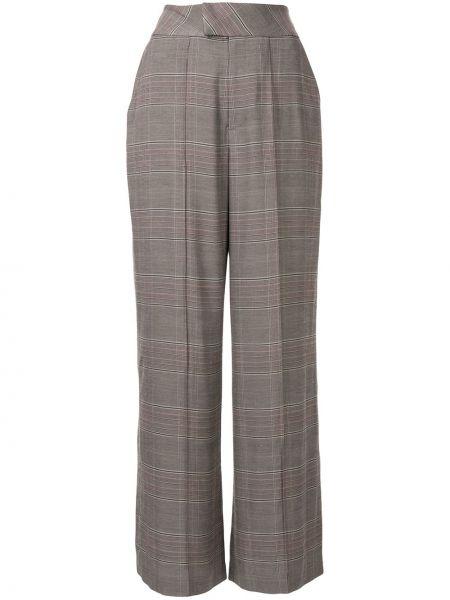 Свободные брюки с воротником с карманами свободного кроя Muller Of Yoshiokubo