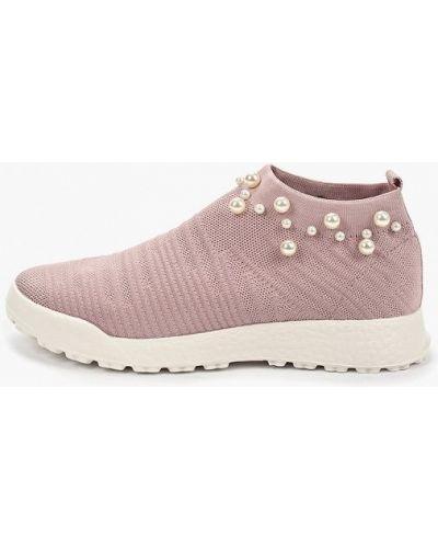 Кроссовки розовый низкие Inario