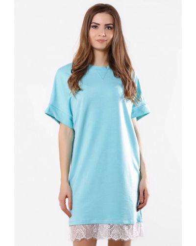 Бирюзовое платье Sfn