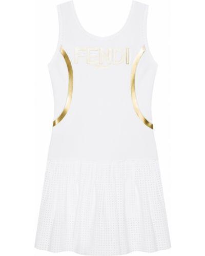 Платье мини миди теннисное Fendi