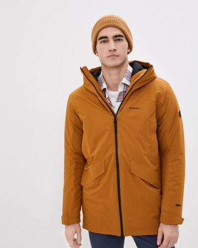 Коричневая утепленная куртка Merrell
