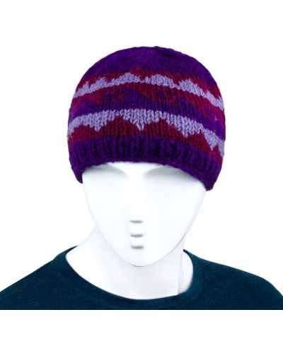 Флисовая шапка - фиолетовая Rozetka