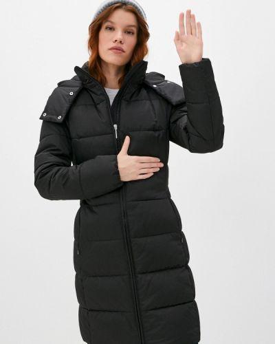 Черная утепленная куртка Hugo
