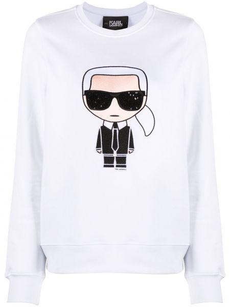 Bluza z haftem Karl Lagerfeld