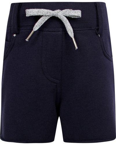 Хлопковые шорты - синие Elsy