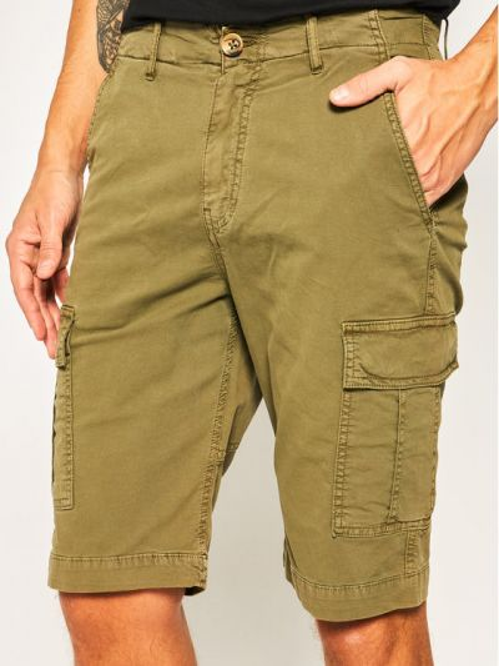 Szorty jeansowe - zielone Guess