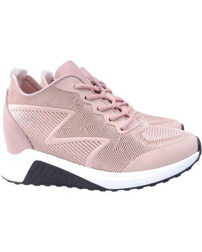 Кожаные кроссовки - розовые Arees Meniwa