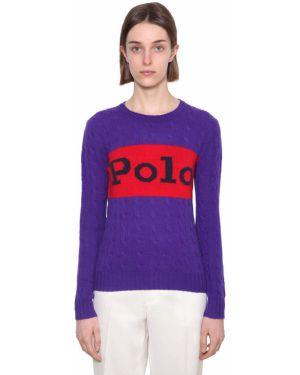 Sweter z kołnierzem z kaszmiru Polo Ralph Lauren