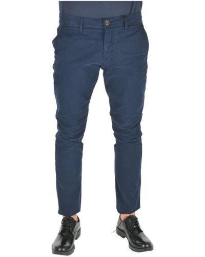 Niebieskie spodnie casual Guess