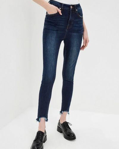 Синие джинсы-скинни One Teaspoon