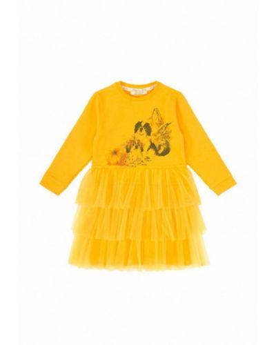 Платье желтый The Hugs