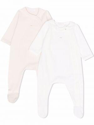 Piżama zapinane na guziki - biała Chloé Kids