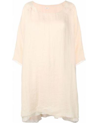 Блузка оверсайз с вырезом Apuntob