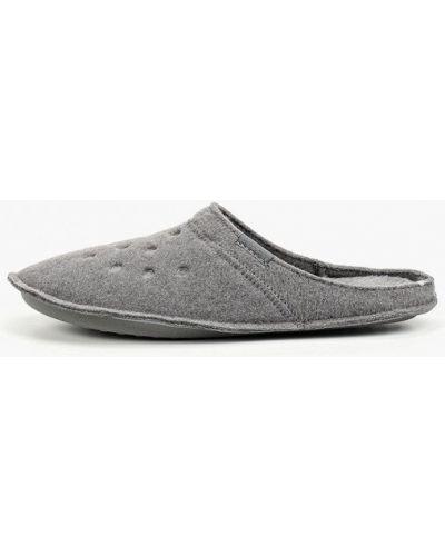 Домашние тапочки серые Crocs
