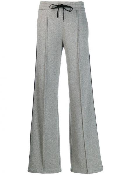 Szerokie spodnie sportowe z wysokim stanem Moncler