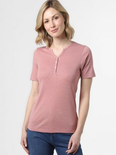Koszula z kwiatowym nadrukiem różowy Brookshire
