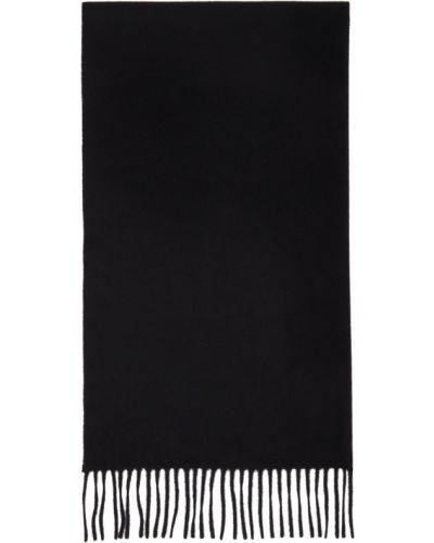 Czarny szalik wełniany Etudes