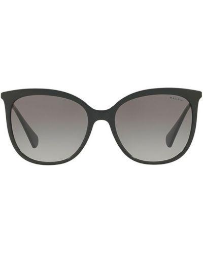 Czarne okulary Ralph Lauren