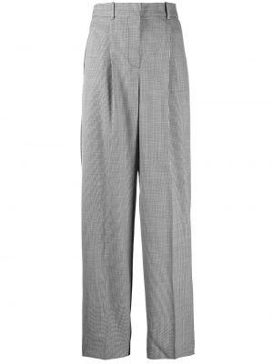 Spodnie z wysokim stanem z kieszeniami zapinane na guziki Givenchy