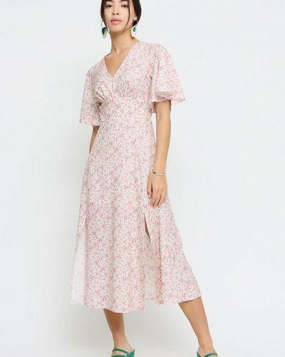 Прямое платье - бежевое Cardo