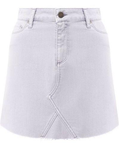 Юбка мини джинсовая фиолетовый Paige