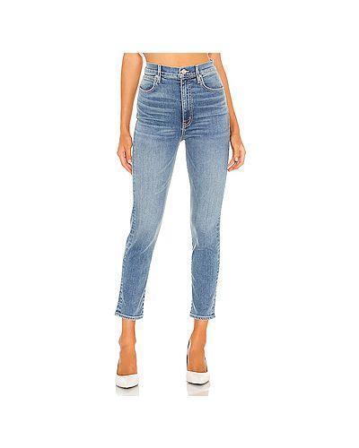 Хлопковые джинсы-скинни на молнии скинни Slvrlake