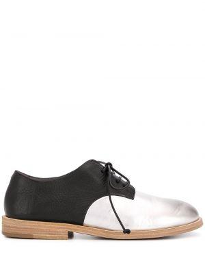 Buty brogsy skórzany czarny Marsell