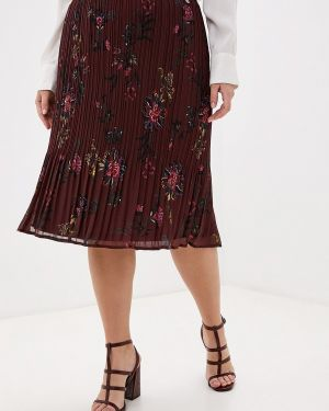 Плиссированная юбка коричневый Samoon By Gerry Weber