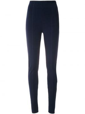 Синие брюки узкого кроя на молнии Gloria Coelho