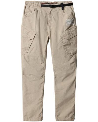 Beżowe spodnie oversize casual Napapijri