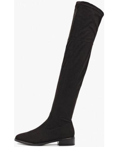 Ботинки на каблуке черные осенние Evita
